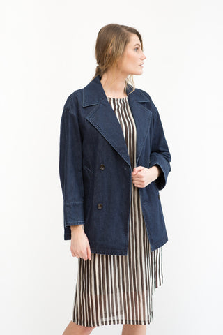 Tomorrowland Short Denim Trench