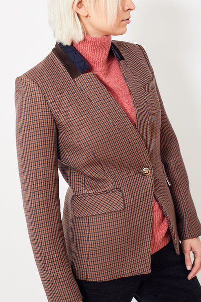 Veronica Beard Upcollar Dickey Jacket