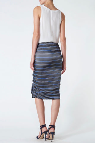 Veronica Beard Drew Ruffle Pencil Skirt