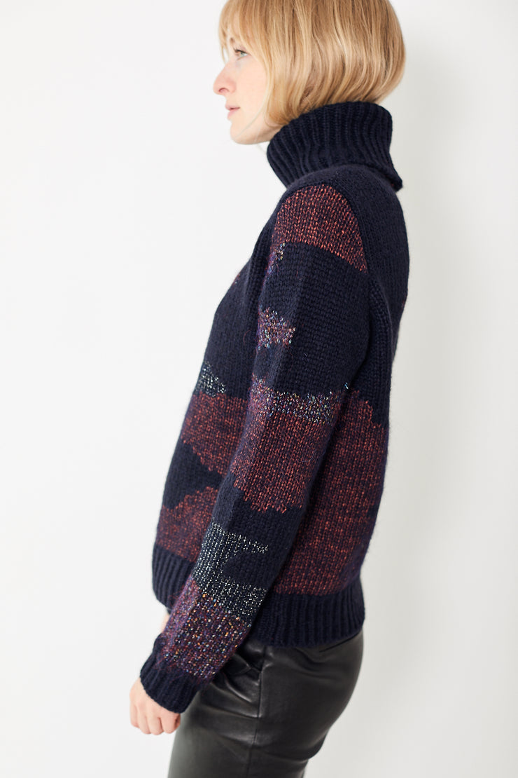 Veronica Beard Naledi Intarsia Sweater