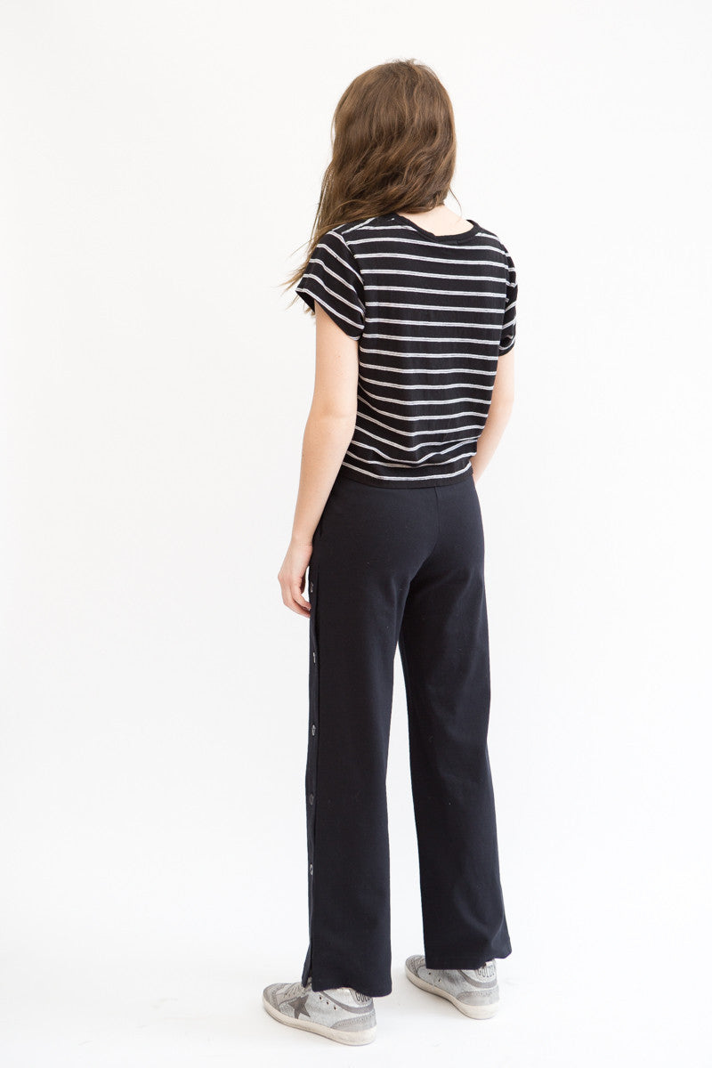 Vis Ā Vis Pant With Side Buttons