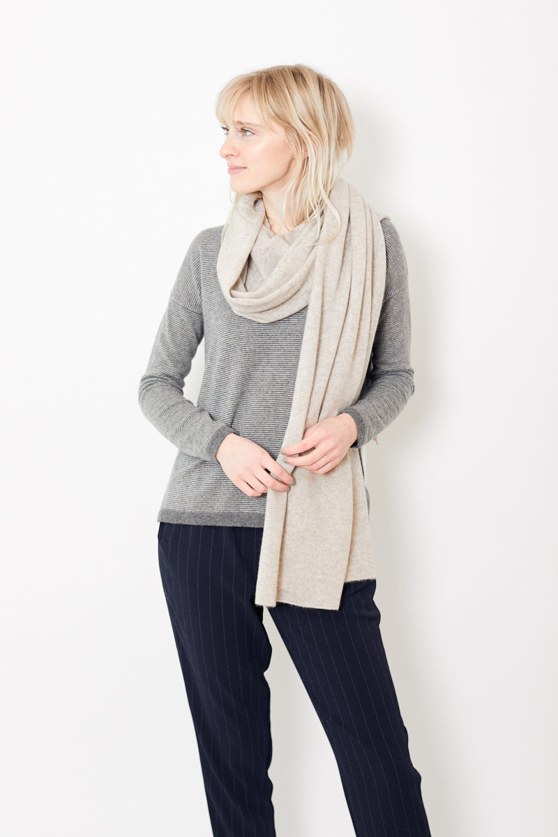 White + Warren Mini Cashmere Travel Wrap