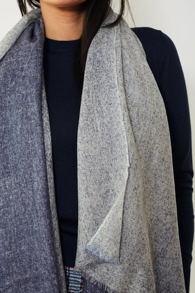White + Warren Spray Dyed Woven Cashmere Wrap
