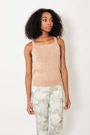 White + Warren Square Neck Tank