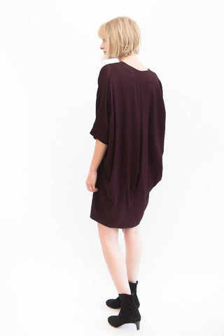 Zero + Maria Cornejo Bea Eco Drape Dress