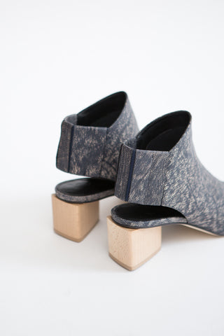 Zero + Maria Cornejo Illia Sandal Denim Leather
