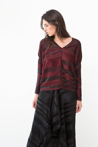 Zero + Maria Cornejo Long Sleeve Koya Top