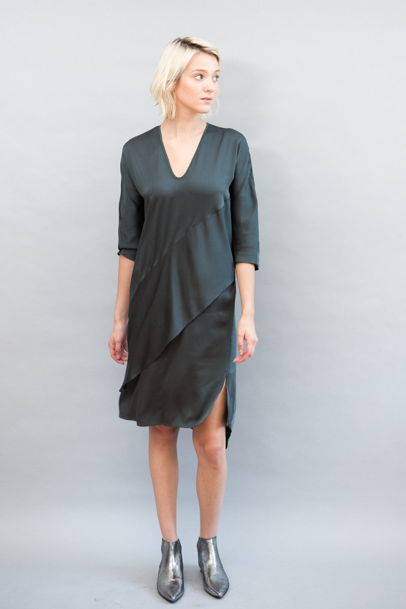Zero + Maria Cornejo Lulu Dress Drape