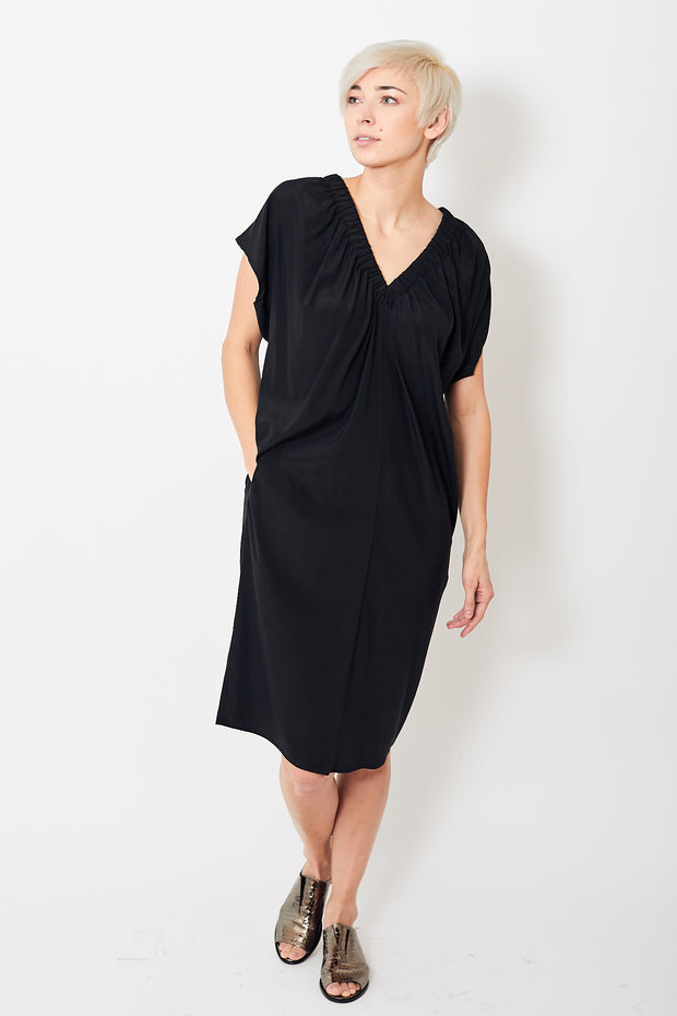 Zero + Maria Cornejo Ruched Tilly Dress
