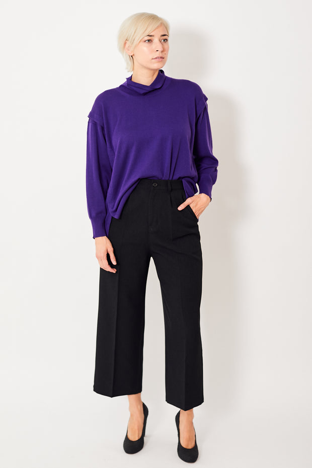Zucca Pleated Wide Leg Pant