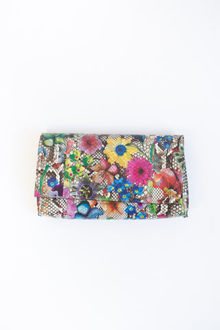 b.may Foldover Clutch