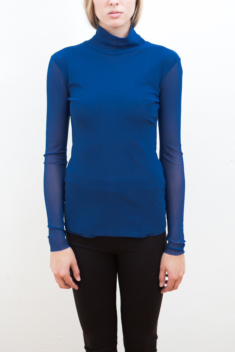Petit Pois by Viviana Long Sleeve Mesh Turtleneck - grethen house