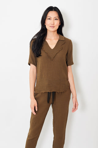 Raquel Allegra Diamond Yoke Polo