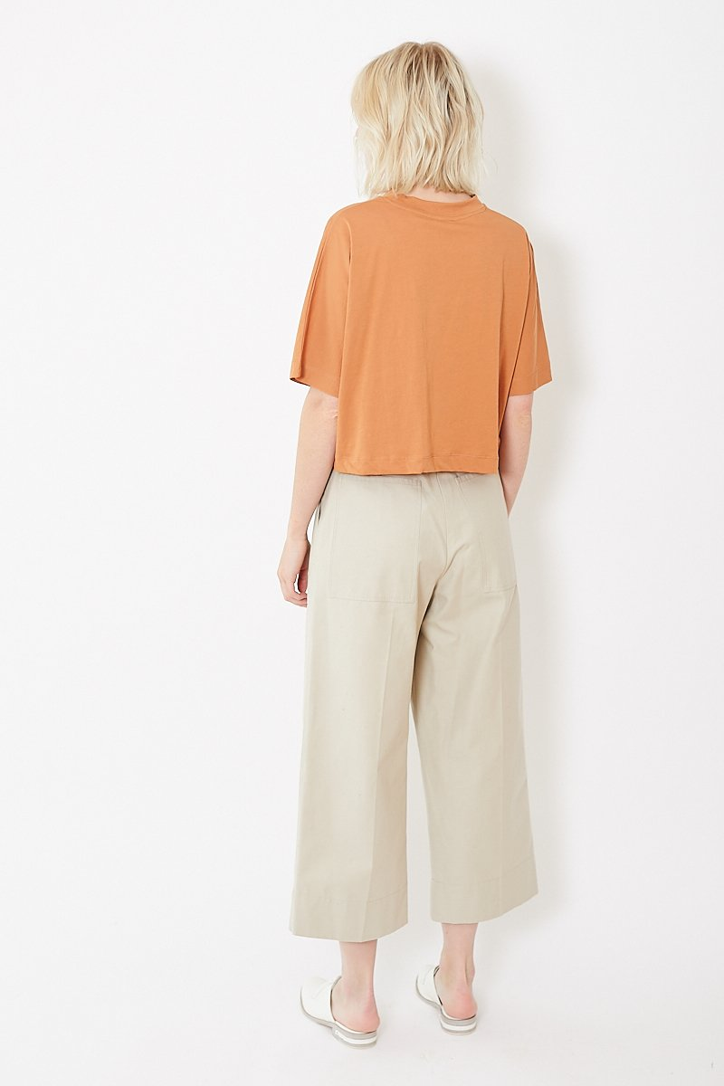 Bassike Wide Leg Workwear Chino