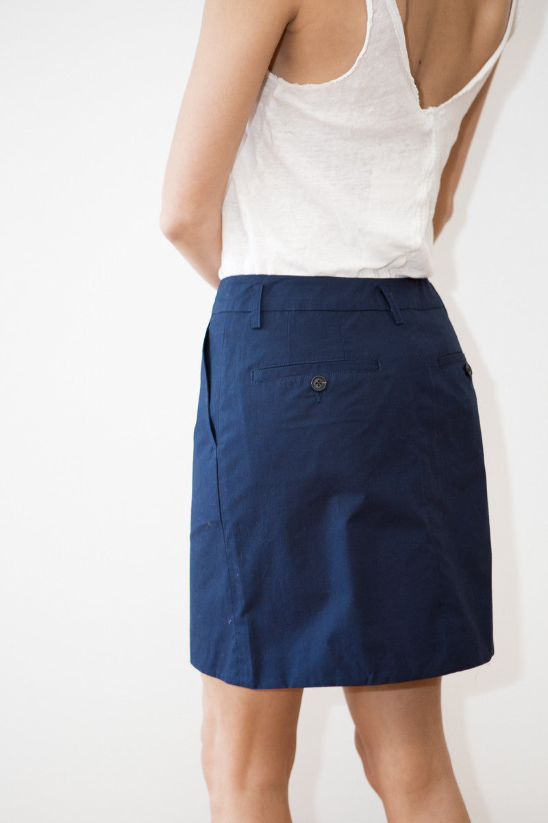 Organic by John Patrick Mini Skirt - grethen house