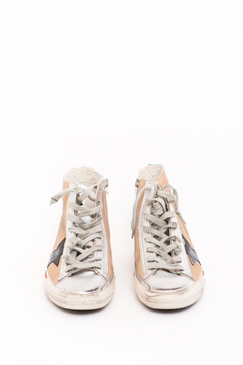 Golden Goose Sneakers Francy Hi Top - grethen house