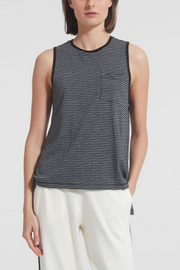 ATM Anthony Thomas Melillo Stripe Jersey Tank