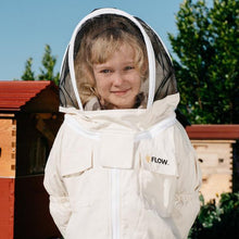 Load image into Gallery viewer, Beekeeping Suit - Unbleached Organic Cotton - Child