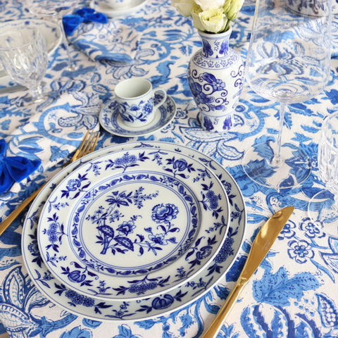 All blue everything Tablecloth