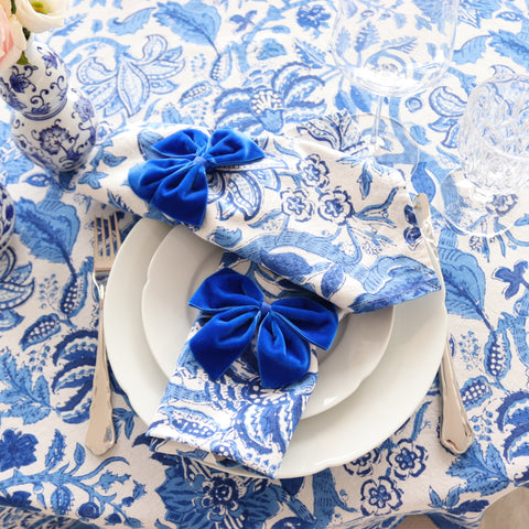 All Blue Everything Napkin (Set of 4)