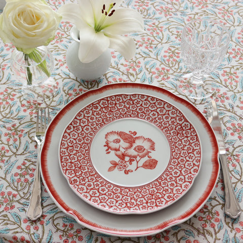 """Coral"" Dinner Set for 4 people"