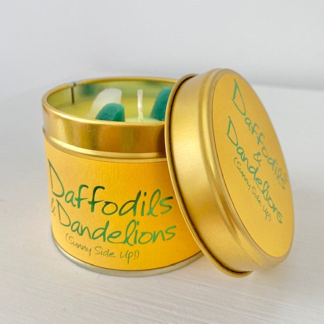 Daffodils & Dandelions Candle Tin