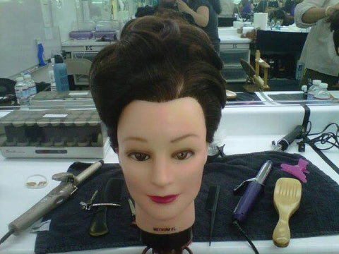 Vintage Time Period Film Hairstyle by Sapphire of Hair by Sapphire