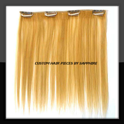 CUSTOM MADE CLIP IN HAIR EXTENSIONS WEAVE BY SAPPHIRE OF HAIR BY SAPPHIRE