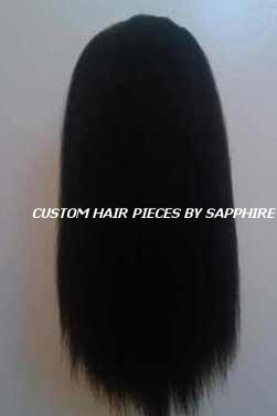 CUSTOM MADE DRAWSTRING PONYTAIL WIGLET BY SAPPHIRE OF HAIR BY SAPPHIRE