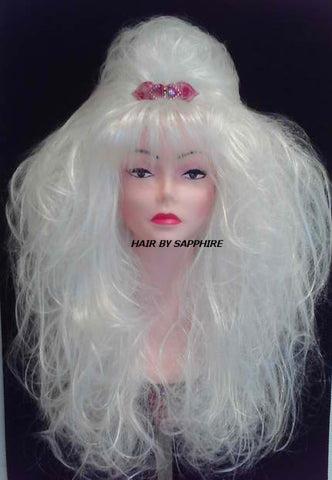 DOLLY PARTON WIG CUSTOM MADE WIG BY SAPPHIRE OF HAIR BY SAPPHIRE