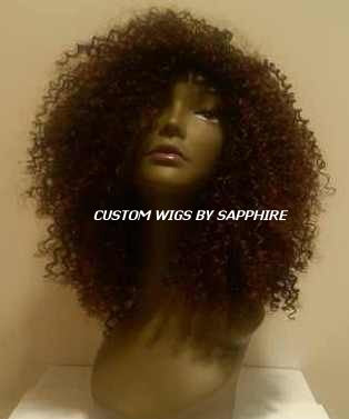 WAVY CUSTOM MADE WIG BY SAPPHIRE OF HAIR BY SAPPHIRE