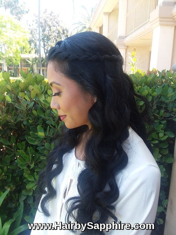 Wedding Hairstyle by Sapphire of Hair by Sapphire