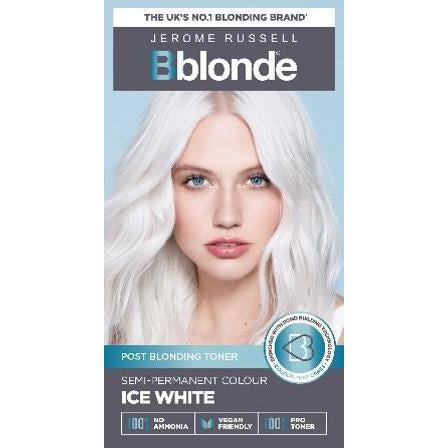 Jerome Russell - Bblonde Semi-Permanent Ice White Blonde