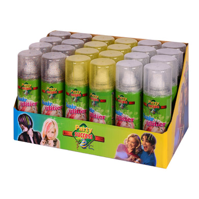 Party Success Glitter Spray - display of 24