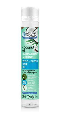 Natural World Coconut Water Hair Oil 25ml