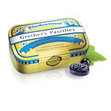 Load image into Gallery viewer, Grether's Pastilles Blackcurrant Pastilles Regular 110g
