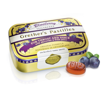 Load image into Gallery viewer, Grether's Pastilles Blueberry Pastilles Sugarfree 110g
