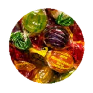 Tilley's Sweets Fruit Drops 120g