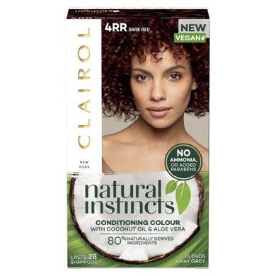Clairol Natural Instincts - Dark Red - 4RR