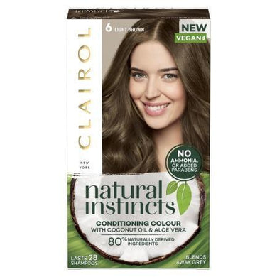 Clairol Natural Instincts - Light Brown - 6