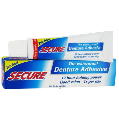 Secure Denture Adhesive Cream