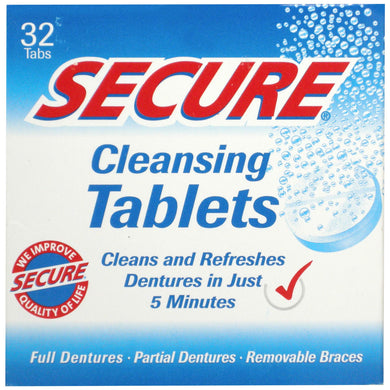 Secure Cleansing Tablets (32)