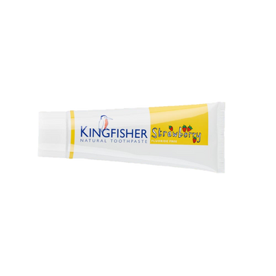 Kingfisher Children's Toothpaste - Strawberry Fluoride Free 75ml