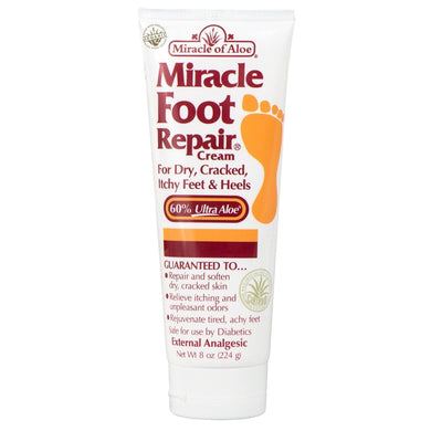 Miracle of Aloe Miracle of Aloe - Foot Repair Cream 224g