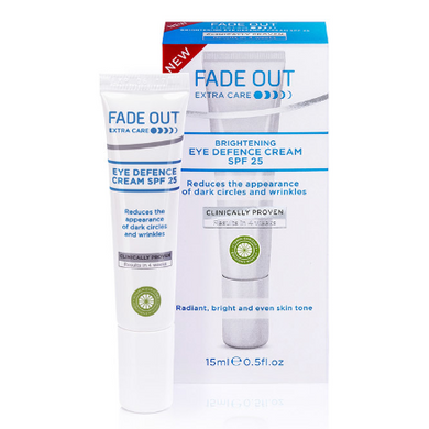 Fade Out  Even Skin Tone Eye Defence Cream SPF25 15ml