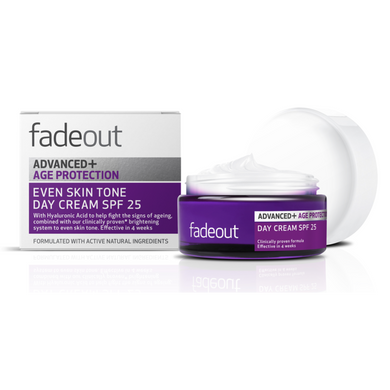 Fade Out Advanced+ Age Protection Even Skin Tone Day Cream SPF25 50ml