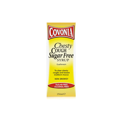 Covonia Chesty Cough Sugar Free Syrup 150 ml