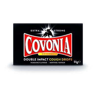 Covonia Double Impact Cough Drops - Original 30g
