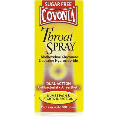 Covonia Throat Spray - Mentholated - 30 ml