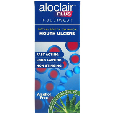 ALOCLAIR PLUS MOUTHWASH 120ML